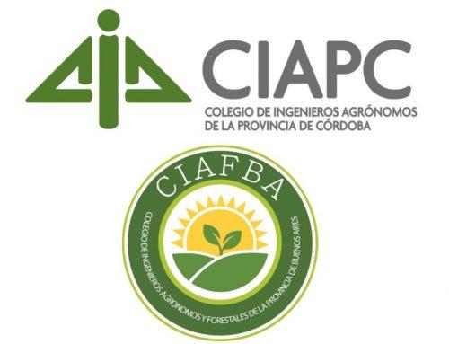 Reciprocidad matricular entre los Colegios de Córdoba y Buenos Aires