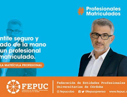 Campaña de Matriculación Profesional con eje en identidad y valores