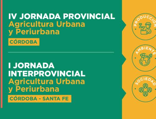 Jornada Provincial e Interprovincial de Agricultura Urbana y Periurbana 2020