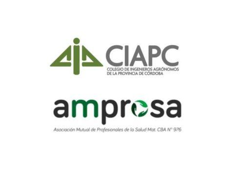 Convenio con la Asociación Mutual de Profesionales de la Salud de Córdoba (Amprosa)